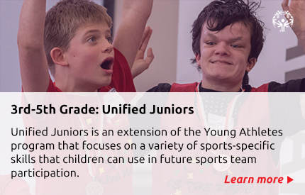Unified Juniors description with link to flyer