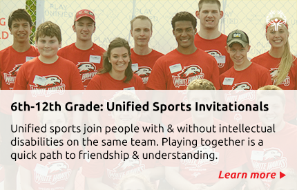 Link to Unified Sports Invitationals webpage