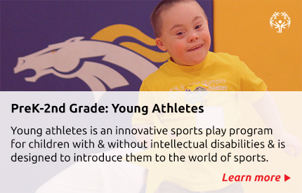 Young Athletes description with link to webpage