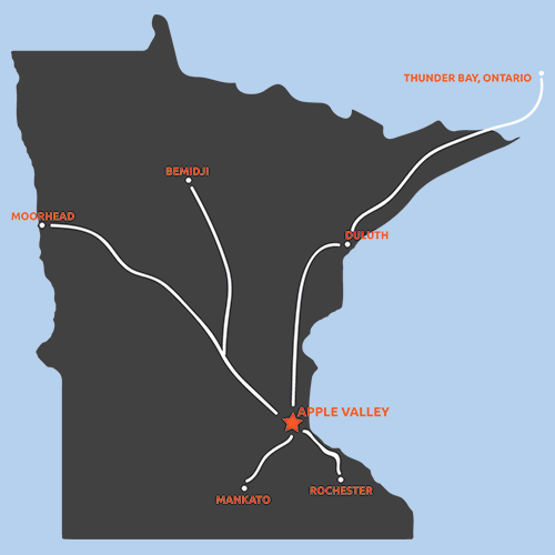 Law Enforcement Torch Run Final Leg route map