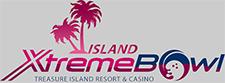 Island Extreme Bowl bowling alley logo