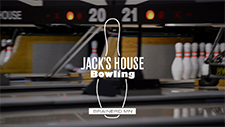 Jack's House bowling alley logo