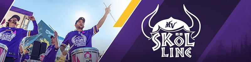Graphic for the Minnesota Vikings Skol Line