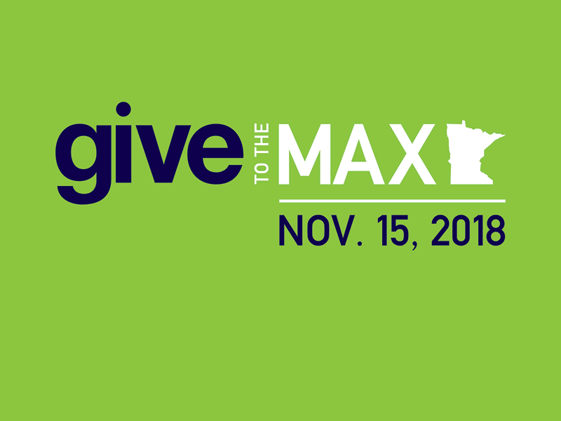 Give to the Max Day logo - Nov. 15, 2018