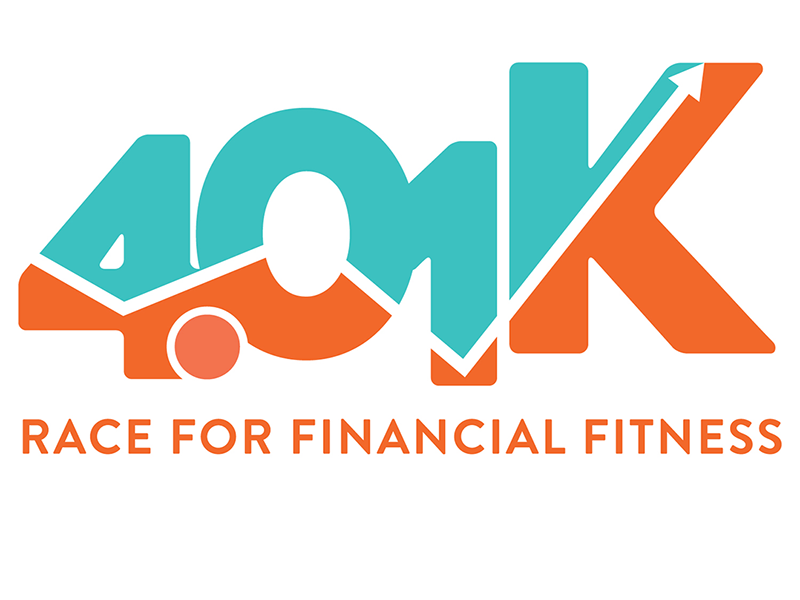 Logo for the 4.01K Race for Financial Fitness