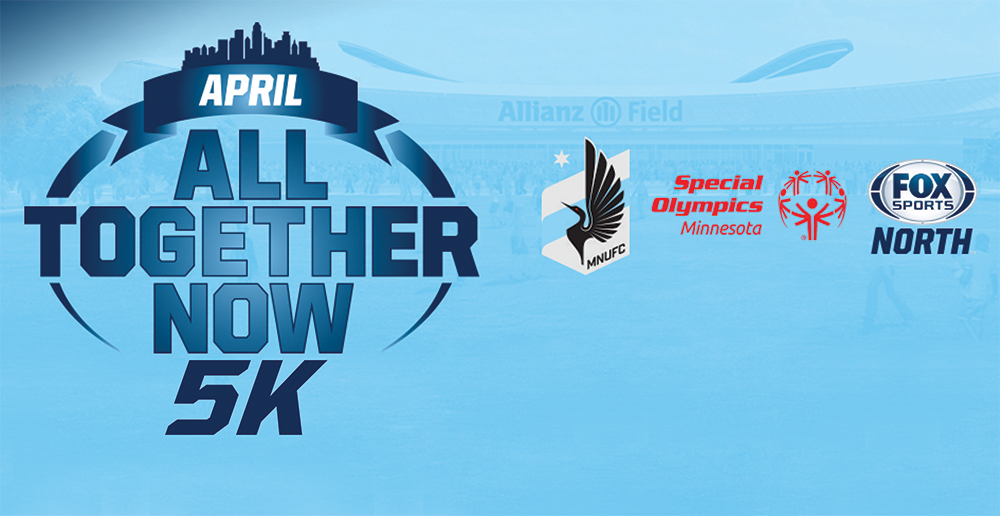 Logo for All Together Now 5K