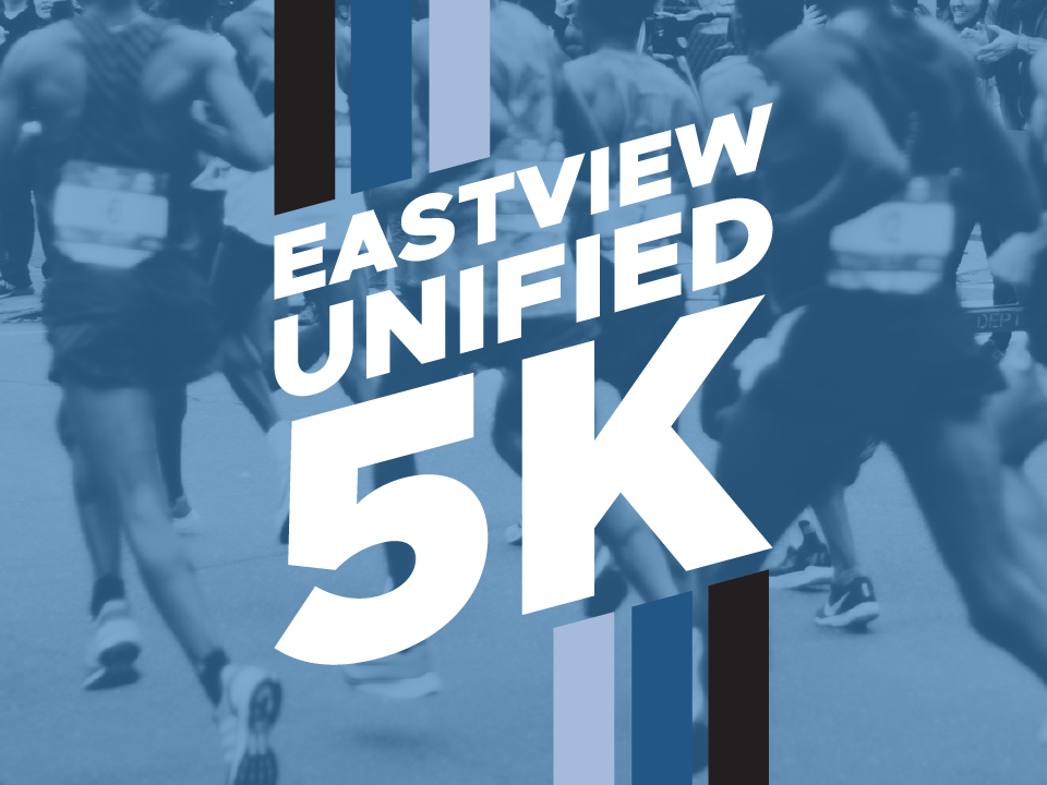 Logo for the Eastview Unified 5K