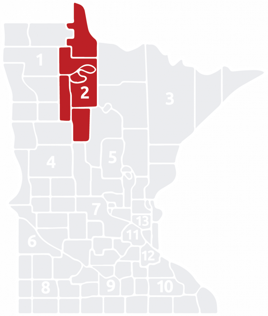 Special Olympics Minnesota Area 2 is located in the north central part of the state