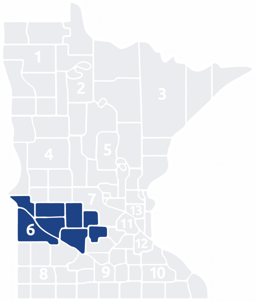 Special Olympics Minnesota Area 6 is located in the west central part of the state