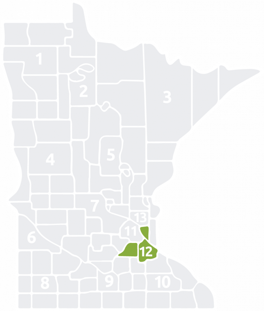 Special Olympics Minnesota Area 12 is located in the south part of the Twin Cities Metro