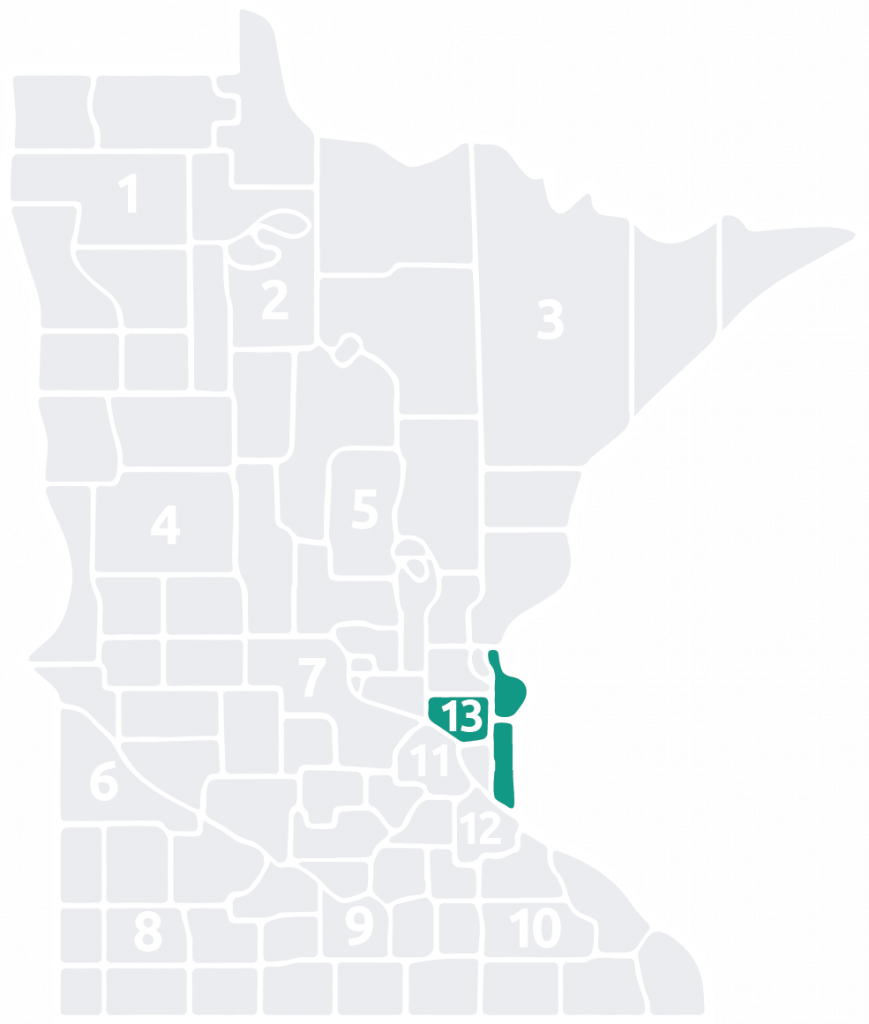 Special Olympics Minnesota Area 13 is located in the north and east part of the Twin Cities Metro