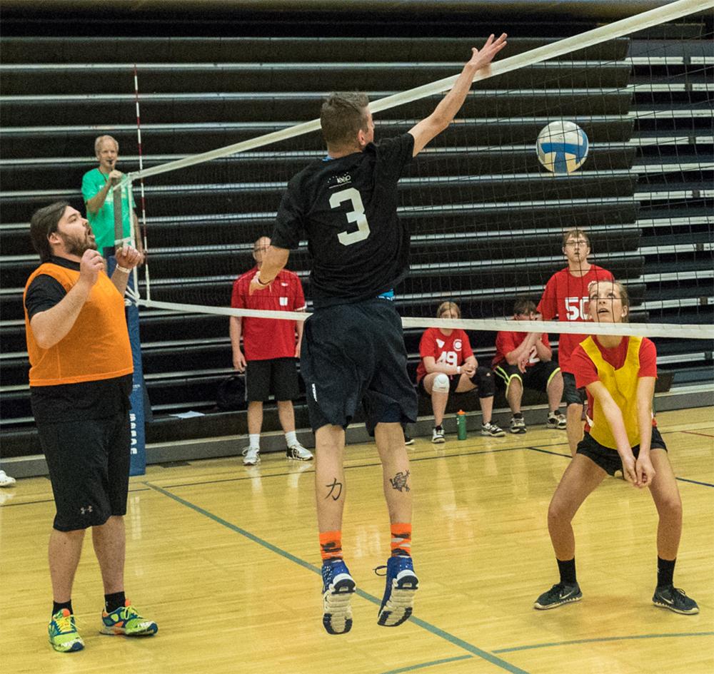 Volleyball Special Olympics Minnesota